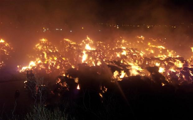 Severe Fire in Birmingham – Smurfit Kappa Paper Mill