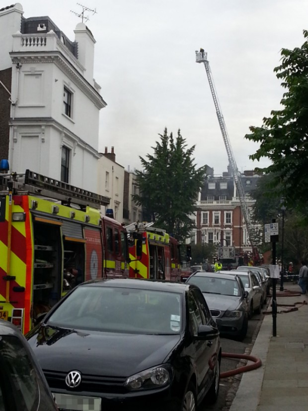 House Fire – Kensington, London