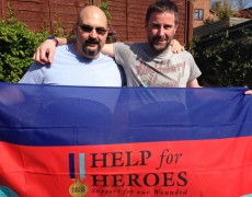 Team SRC and their Help for Heroes Trek Kick Off